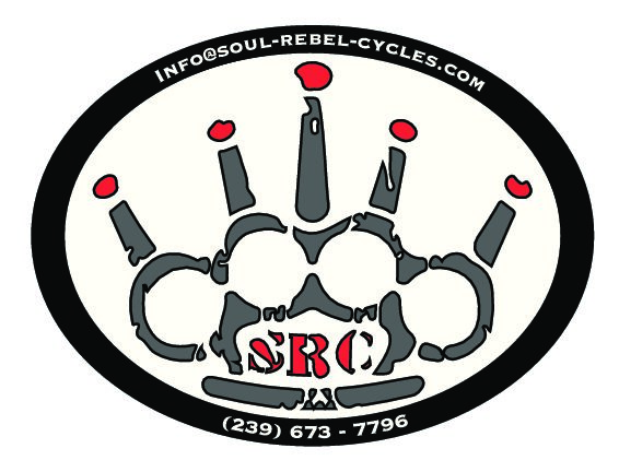 Soul Rebel Cycles Sticker